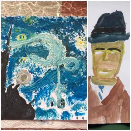 3 а клас - Ван Гог