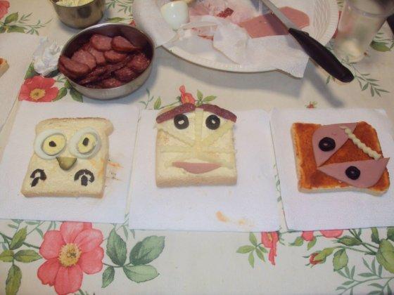 4-ти клас Сандвичи