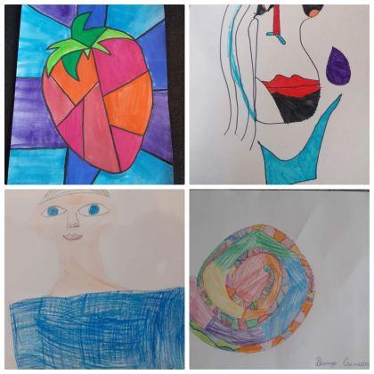 3 а клас - Пабло Пикасо - Кубизъм